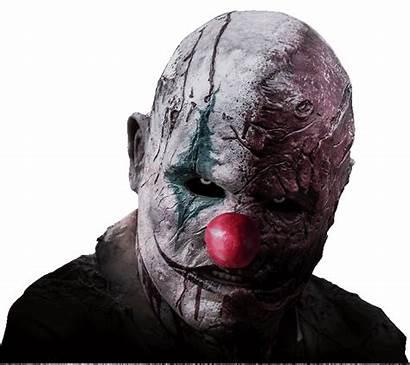 Clown Scary Face Haunted Terror Angeles Los
