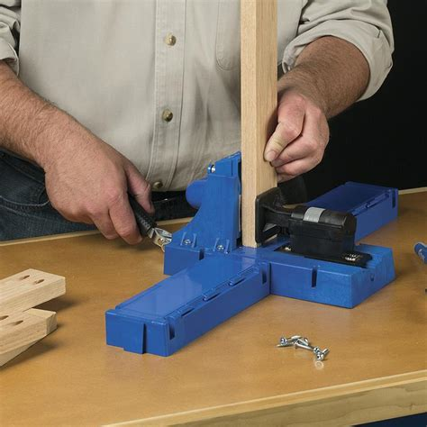 kreg jig  advanced features  building  wood