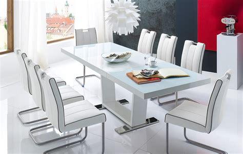 housse canapé d angle extensible table a manger blanc laque extensible
