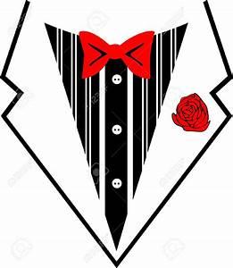 Bow Tie Suit Clipart (74+)