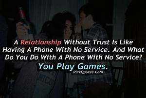 Relationship Quotes | Relationship Without Trust