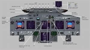 737 Simulator Cockpit Diagrams
