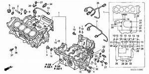 Crankcase For 1998 Honda Cbr1100xx Cbr1100xx  Super