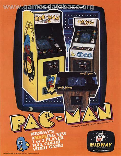Pac Man Arcade Games Database