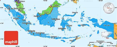 indonesia map simple