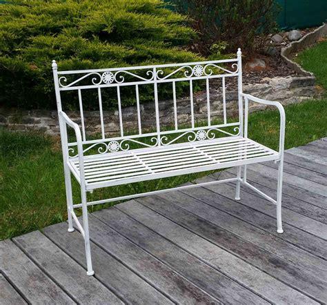 panchine giardino panca da giardino in ferro battuto tavoli sedie panchine