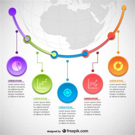 statistics template statistics infographics template vector free