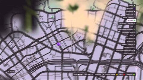 Grand Theft Auto 5 Car Location (bugatti Veyron)
