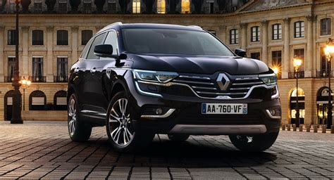 renault koleos 2016 black renault gives new koleos an initiale paris touch