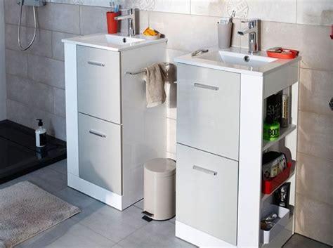 Petit meuble salle de bains  notre sélection Elle