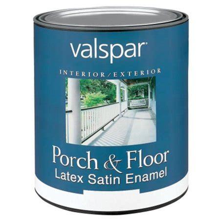 valspar brand 1 quart clear base porch floor latex satin enamel 27 1505 qt walmart com