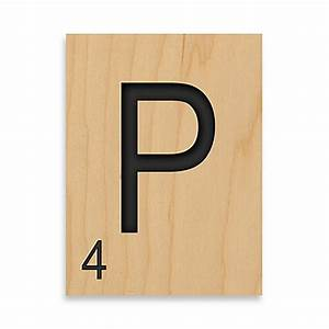 game tile letter quotpquot wall art bed bath beyond With letter p wall art