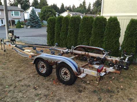 Used Boat Trailers Nanaimo by 1992 Ez Loader Tandem Boat Trailer Nanaimo Nanaimo