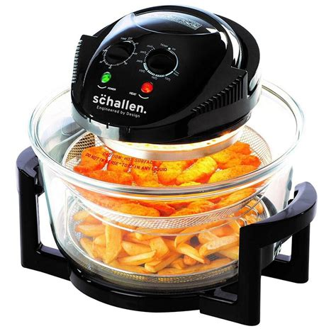 fryer air glass deep frying healthy oil cooker fat daewoo halogen deluxe airfryer cpc compare 1400w