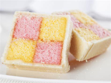 mini kuchen your battenberg cake serious eats