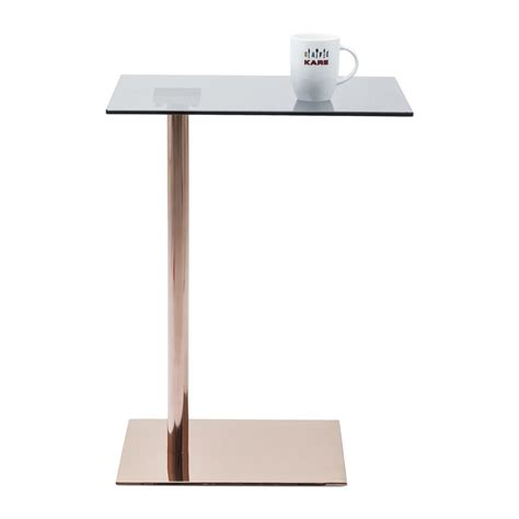 table d appoint table d appoint moderne cuivre west coast kare design