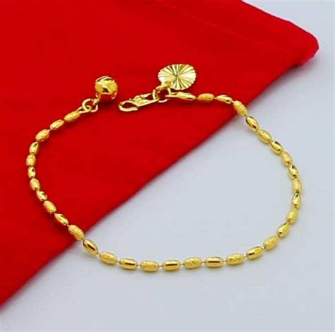 new arrival fashion 24k gp gold plated mens aliexpress buy new arrival fashion 24k gp gold