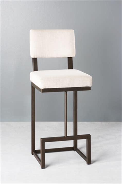 buy wesley allen s dumas modern narrow bar stool