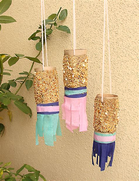 bird feeder craft for preschoolers toilet paper craft bird feeders creative 254