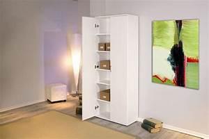 Büroschrank Weiß Hochglanz : b roschrank aktenschrank arconati melamin wei 2 t ren 5 fachb den ~ Frokenaadalensverden.com Haus und Dekorationen