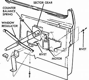Can You Send Me A Wiring Diagram And An Exploded View Of The Power Window Assembly For A 1988