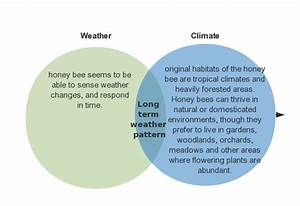 26 Weather Vs Climate Venn Diagram