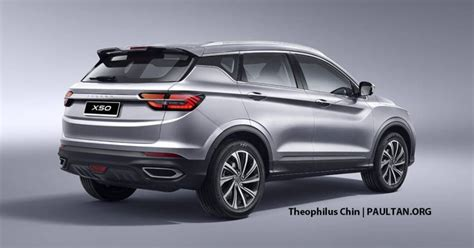 proton  suv rendered  infinite weave grille paul
