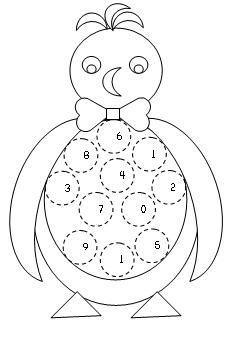 math ideas  penguin theme p