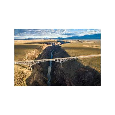 Rio Grande Gorge Bridge New Mexico USADronestagram