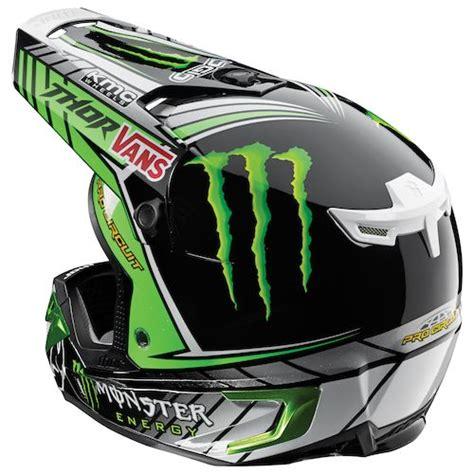 monster motocross helmet thor verge pro circuit monster energy helmet revzilla