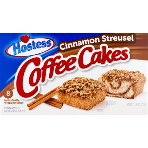 This is a taste test/review of the hostess cream cheese coffee cakes and the hostess cinnamon streusel coffee cakes. Hostess Coffee Cakes Cinnamon Streusel (11.6 oz ...