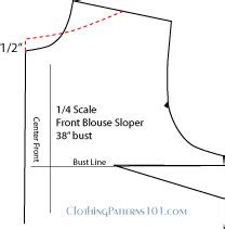 How To Cut Boat Neck Dress by How To Draft A Boatneck Or Bateau Neckline