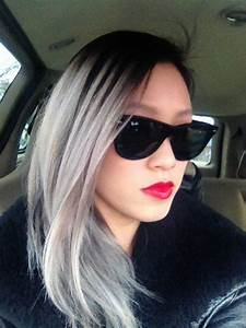 Silver ombre so cute   Hair & Beauty that I love ...