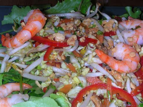 comment cuisiner les germes de soja frais salade asiatique aux crevettes carambar et cie