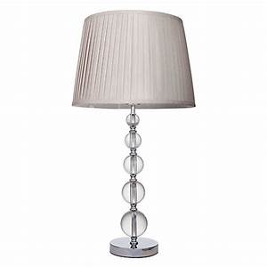 Buy john lewis lavinia large glass table lamp john lewis for Table lamp shades john lewis