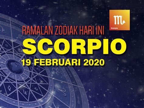 ramalan zodiak scorpio hari   februari  bersenang senang