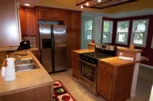 prairie home designs freestanding range in island less house