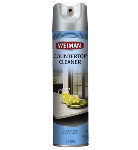 countertop cleaner for marble and in household