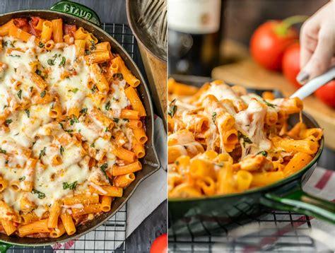 chicken parmesan pasta only 6 ingredients