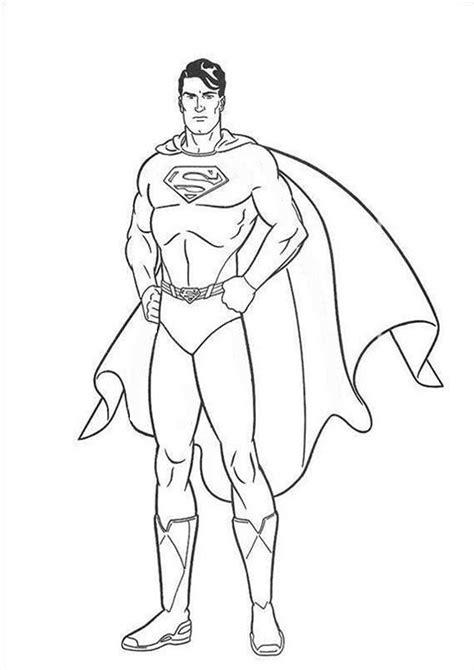 superman  ausmalbilder malvorlagen