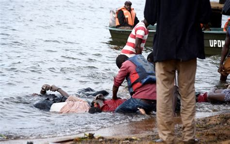 Boat Cruise Accident In Lake Victoria by Death Toll From Uganda Boat Capsize Rises To 31 Bdnews24