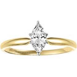 walmart engagement ring keepsake 1 2 carat marquise engagement ring in 10kt yellow gold walmart