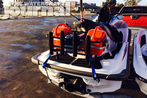 jet ski cooler rack real review kool pwc stuff jet ski fishing rack the