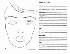 44 Best Images About Blank Facecharts On Pinterest