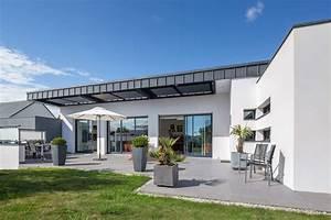 Maison Architecte Plain Pied : architecte maison contemporaine vannes ventana blog ~ Melissatoandfro.com Idées de Décoration