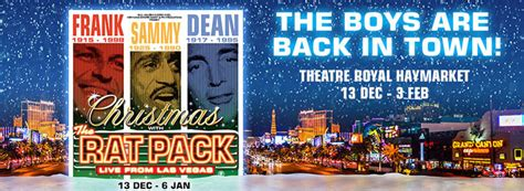 92049 Theatre Royal Promo Code by With The Rat Pack Tickets Theatre Royal