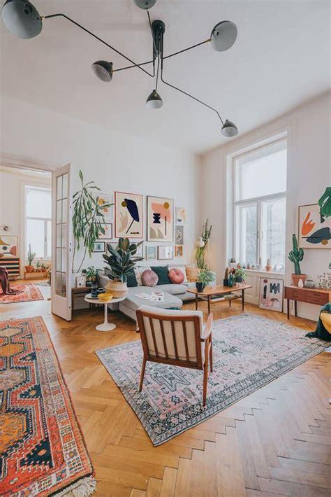 mid century boho living room designs homemydesign