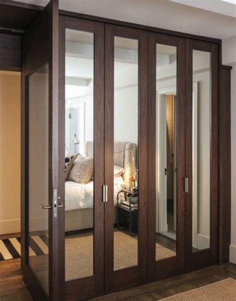 Wardrobe Closet With Mirror Doors 20 mirror closet and wardrobe doors ideas shelterness