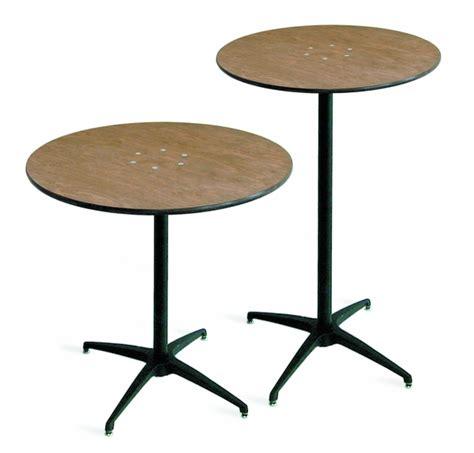 mccourt 42 inch high plywood pedestal table 30