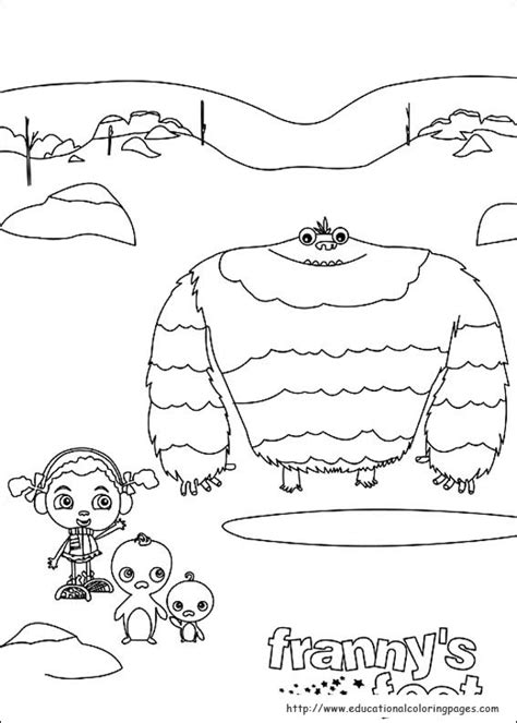 frannys feet coloring pages educational fun kids coloring pages  preschool skills worksheets